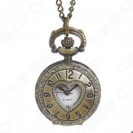 Кулон-часы Mitya Veselkov «Медальон с сердцем»
