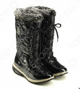 Сапоги зимние Walkmaxx Snow Boots. Цвет: черный