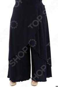 Юбка-брюки Pretty Woman «Крылья Пегаса». Цвет: синий