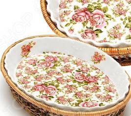 Форма для запекания керамическая «Утренняя роза»