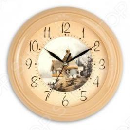 Часы настенные Вега П 6-14-9 Дом