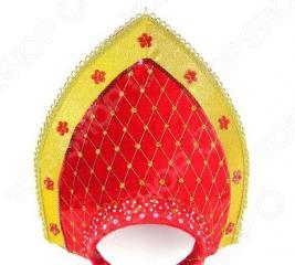 Головной убор карнавальный Новогодняя сказка «Кокошник»