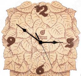 Часы для бани Банные штучки «Листья» 32367
