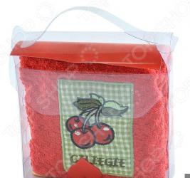Комплект из полотенца и губки подарочный BONITA «Фруктовый сюрприз». В ассортименте