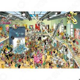 Пазл 2000 элементов Heye «Выставка»