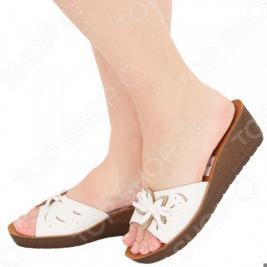 Сабо INBLU «Мягкая походка». Цвет: белый