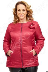Куртка СВМ-ПРИНТ «Тонкий вкус». Цвет: брусничный