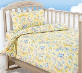 Ясельный комплект постельного белья Бамбино «Карапуз»