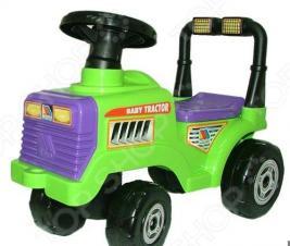 Машина-каталка с гудком POLESIE «Трактор Митя»
