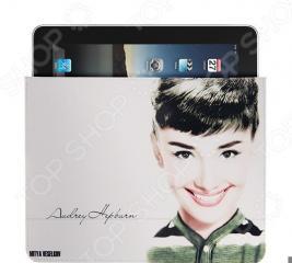 Чехол для iPad Mitya Veselkov «Одри улыбается»