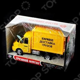 Машина инерционная Joy Toy «Газель фургон Доставка» Р40518