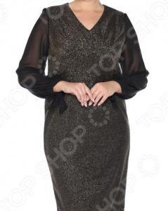 Платье VEAS «Бурлеск». Цвет: золотистый