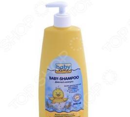 Шампунь для младенцев BABYLINE с помпой