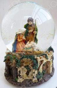 Снежный шар музыкальный Crystal Deco «Рождество» 1707561