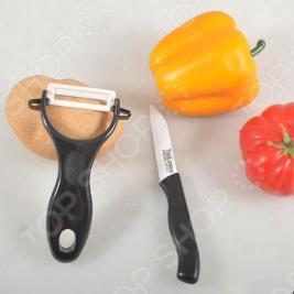 Набор: нож и овощечистка TimA KFH44