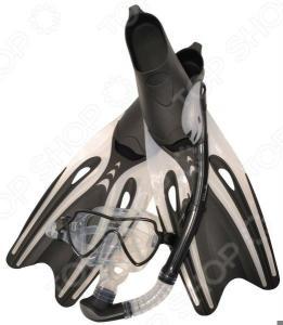 Набор из маски, трубки и ласт WAWE MSF-1390S65F69
