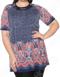 Блуза Лауме-Лайн «Источник красоты». Цвет: красный