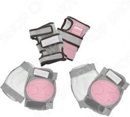 Комплект защиты для роликовых коньков Action PW-316P