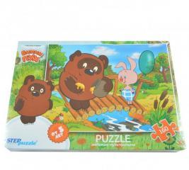 Пазл 160 элементов Step Puzzle Винни Пух