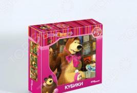 Кубики Step Puzzle «Маша и Медведь» 87133