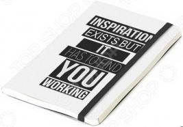 Записная книжка Balvi Inspiration. Цвет: белый