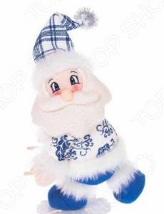 Игрушка новогодняя Новогодняя сказка «Дед Мороз на снежинке» 972014