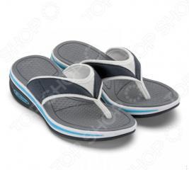 Сланцы женские Walkmaxx Flip Flop. Цвет: синий