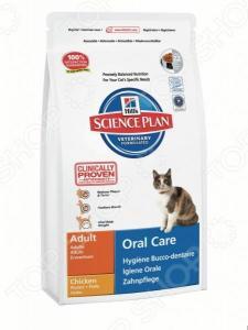 Корм сухой диетический для кошек Hill's Science Plan Oral Care