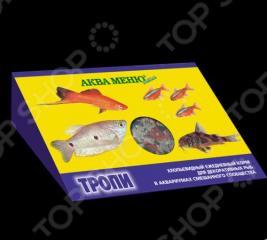 Корм для рыб хлопьевидный Аква Меню «Тропи»