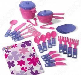 Набор посуды игрушечный Zebratoys «Обеденный»