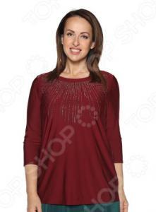 Блуза Blagof «Драгоценная». Цвет: бордовый