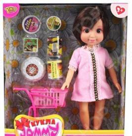 Кукла с аксессуарами Наша Игрушка «Джемми. Магазин»