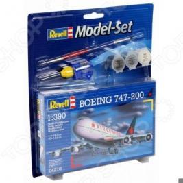 Сборная модель пассажирского самолета Revell Boeing 747