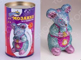 Мозаика из пайеток 3D «Мышка»