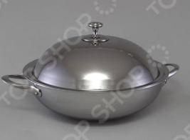 Сковорода вок с крышкой Stahlberg DELUXE 1257-S