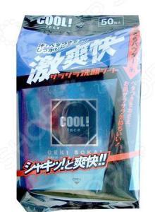 Салфетки влажные Showa Siko Cool! с ароматом ментола 4003472