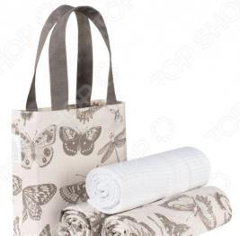 Набор полотенец и сумка Guten Morgen «Бабочки»