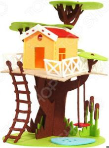 Конструктор мягкий Feltrica «Дом на дереве»