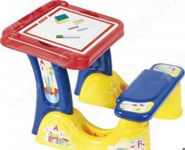 Парта со скамейкой и принадлежностями Palau Toys «Набор дошкольника»