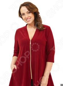 Кардиган Pretty Woman «Паула». Цвет: бордовый