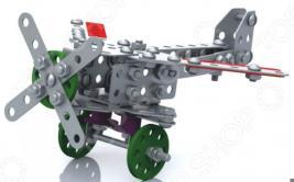 Конструктор металлический Десятое королевство «Самолет с подвижными деталями»