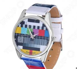 Часы наручные Mitya Veselkov «ТВ-сетка» ART