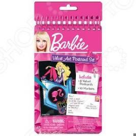 Набор бархатных мини-открыток Fashion Angels «Barbie»