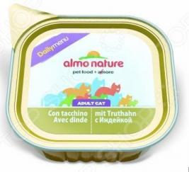 Корм консервированный для кошек Almo Nature DailyMenu Adult с индейкой