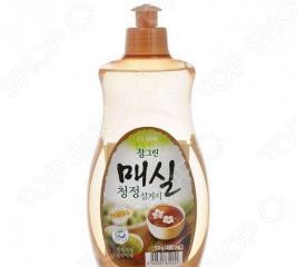 Гель для мытья посуды, овощей и фруктов CJ Lion Chamgreen «Японский абрикос»