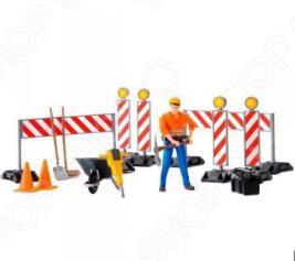 Игровой набор Bruder Набор знаков дорожных работ 62-000