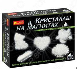 Набор для выращивания Ранок «Кристаллы на магнитах белые»