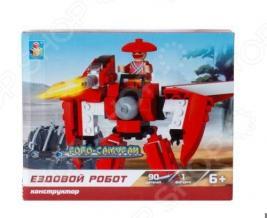 Конструктор игровой 1 Toy «Робосамураи. Ездовой робот»