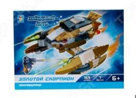 Конструктор игровой 1 Toy «Звездный путь. Золотой скорпион»