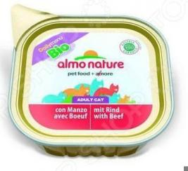 Корм консервированный для кошек Almo Nature DailyMenu Bio Adult with Beaf